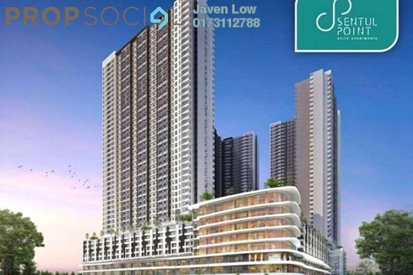 For Sale Condominium at Sentul Point, Sentul Freehold Semi Furnished 2R/2B 370k