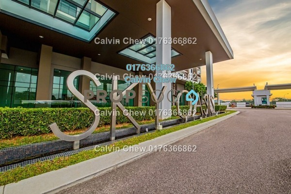 For Sale Serviced Residence at Sky Oasis Residences, Tebrau Freehold Unfurnished 1R/1B 280k