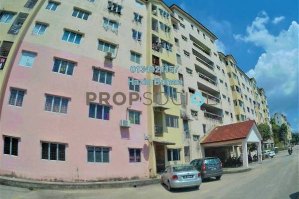 For Sale Apartment at Meru Courts, Klang Freehold Semi Furnished 3R/2B 149k