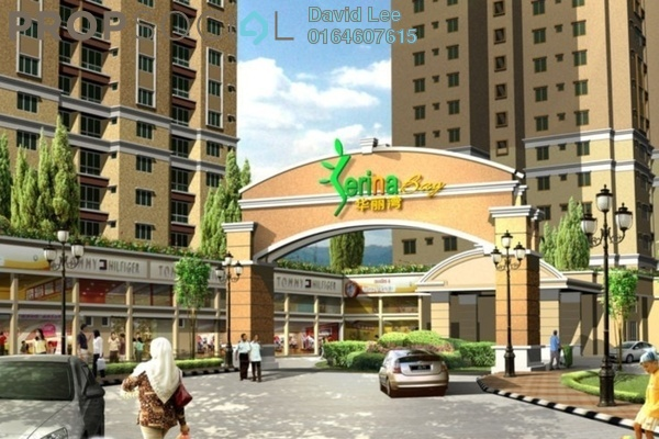 For Sale Condominium at Serina Bay, Jelutong Freehold Semi Furnished 3R/2B 310k