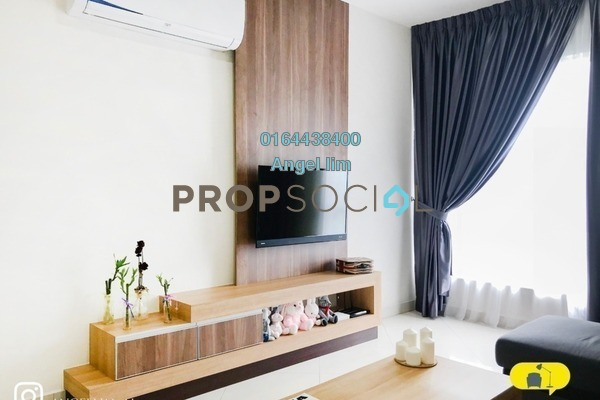 For Sale Condominium at The Crest, Kuala Lumpur Freehold Fully Furnished 2R/2B 700k
