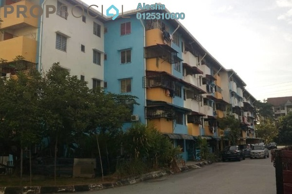 For Sale Apartment at Section 20, Shah Alam Freehold Unfurnished 0R/0B 100k