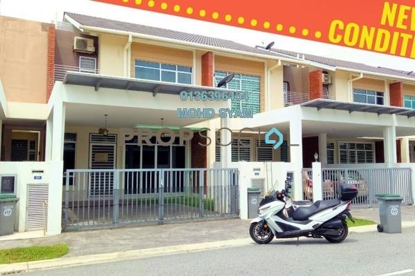 For Sale Terrace at Laman Bakawali, Kota Seriemas Freehold Semi Furnished 4R/3B 520k