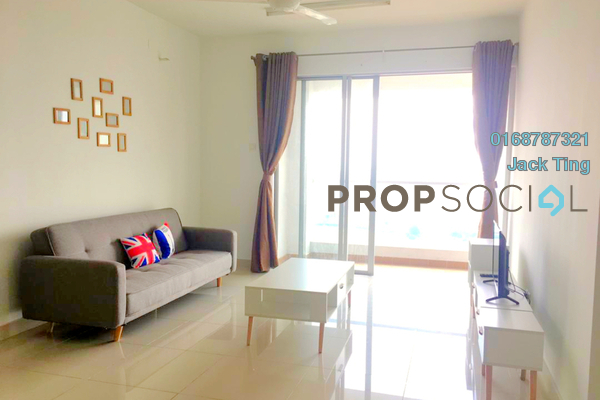 For Rent Condominium at Platinum Hill PV2, Setapak Freehold Fully Furnished 3R/2B 2.3k