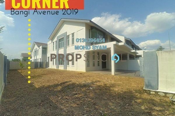 For Sale Terrace at Bangi Avenue, Kajang Freehold Unfurnished 4R/4B 799k