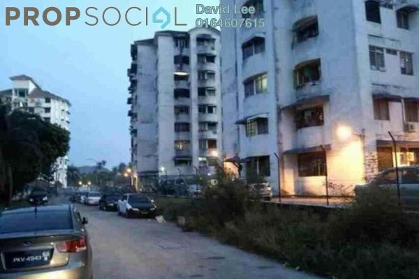 For Sale Apartment at Taman Sri Relau, Relau Freehold Semi Furnished 3R/1B 220k