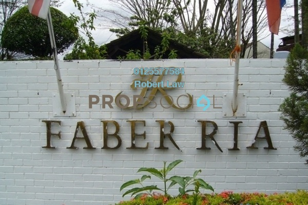 For Sale Condominium at Faber Ria, Taman Desa Freehold Fully Furnished 1R/1B 320k