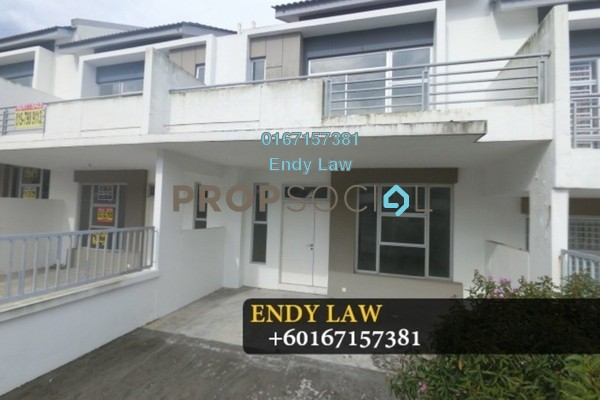 For Sale Terrace at Setia Eco Cascadia, Tebrau Freehold Unfurnished 4R/3B 530k