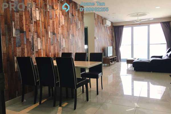 For Rent Condominium at Aurora Residence @ Lake Side City, Puchong Freehold Fully Furnished 3R/2B 2.4k