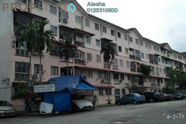 For Sale Apartment at Symphony Court, Ampang Freehold Unfurnished 0R/0B 160k