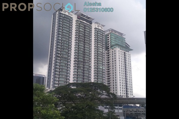 For Sale Apartment at Dua Sentral, Brickfields Freehold Unfurnished 0R/0B 567k