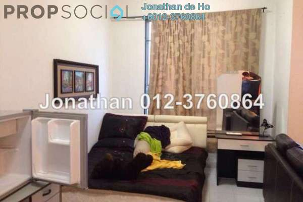 For Rent Condominium at Casa Tiara, Subang Jaya Freehold Fully Furnished 1R/1B 1.8千