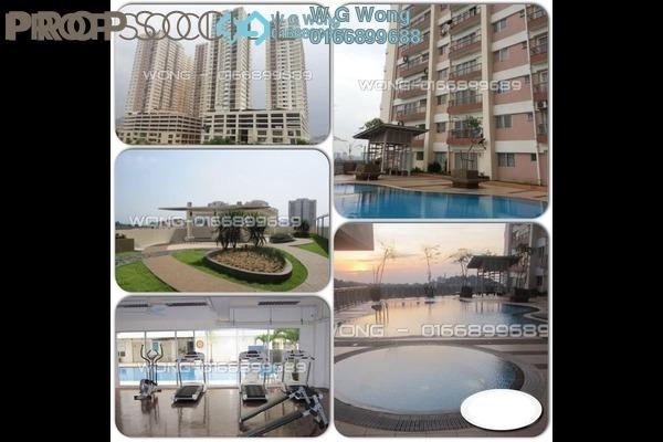 For Sale Condominium at Plaza Medan Putra, Bandar Menjalara Freehold Fully Furnished 3R/2B 398k
