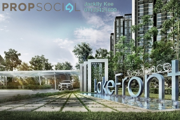 For Sale Condominium at LakeFront Residence, Cyberjaya Freehold Fully Furnished 4R/2B 635k