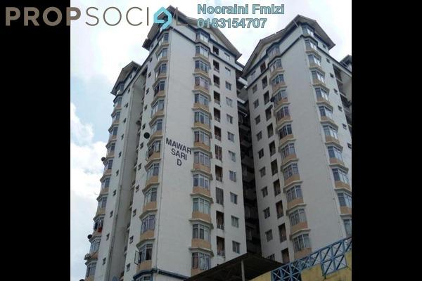 For Rent Apartment at Mawar Sari, Keramat Freehold Semi Furnished 3R/2B 1.2k
