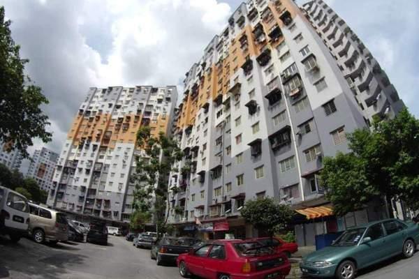 For Rent Apartment at Sri Penara, Bandar Sri Permaisuri Freehold Fully Furnished 3R/2B 1.1k