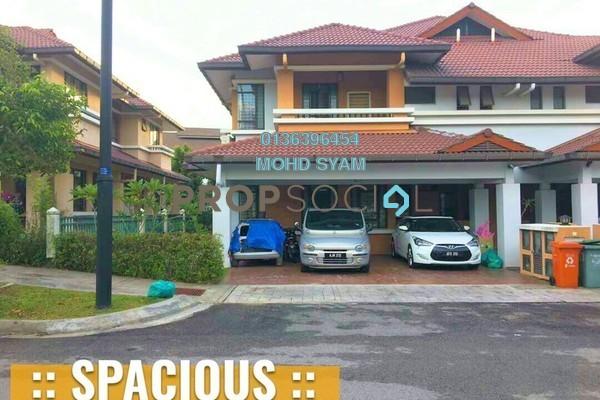 For Sale Semi-Detached at Precinct 11, Putrajaya Freehold Semi Furnished 5R/4B 1.4m