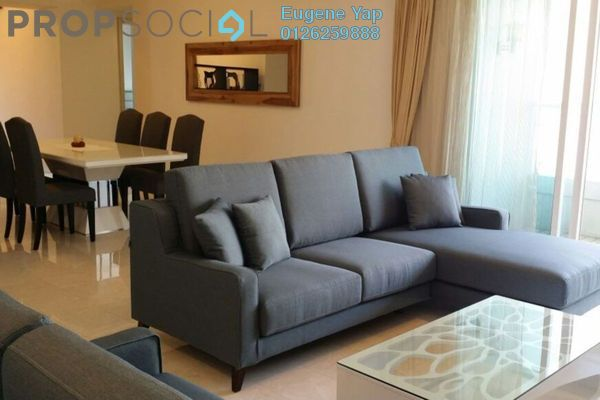 For Rent Condominium at Tiffani Kiara, Mont Kiara Freehold Fully Furnished 4R/4B 6.3k
