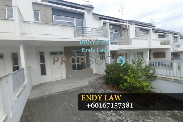 For Sale Terrace at Setia Eco Cascadia, Tebrau Freehold Unfurnished 4R/3B 535k