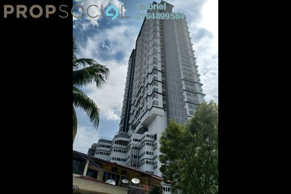 For Sale Serviced Residence at Court 28 @ KL City, Sentul Freehold Unfurnished 3R/2B 660k