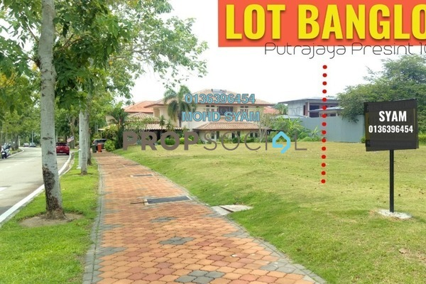 For Sale Land at Precinct 10, Putrajaya Freehold Unfurnished 0R/0B 1.29m