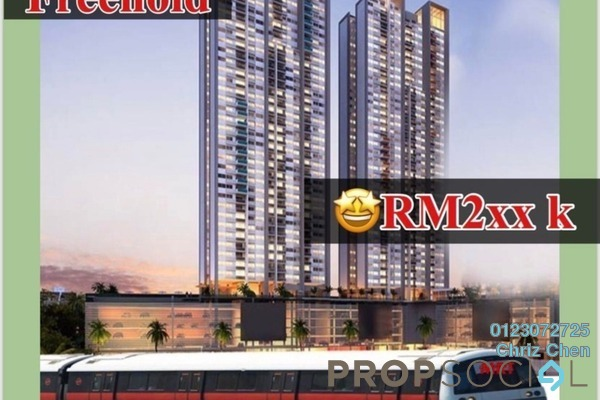 For Sale Serviced Residence at Cheras Perdana, Cheras South Freehold Unfurnished 1R/1B 270k
