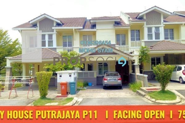 For Sale Terrace at Precinct 11, Putrajaya Freehold Semi Furnished 4R/3B 750k