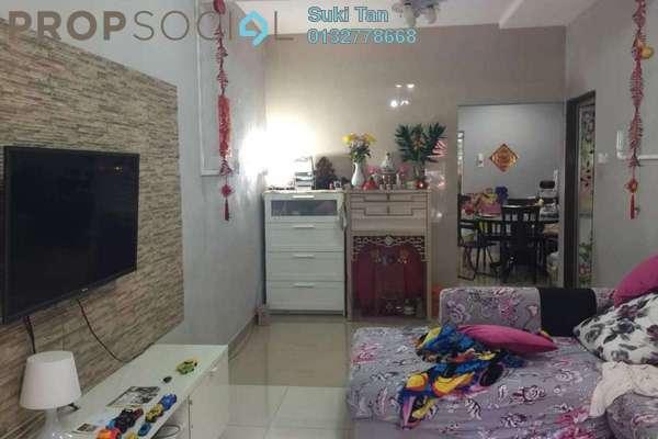 For Sale Terrace at Taman Sri Sinar, Segambut Freehold Semi Furnished 3R/2B 620k