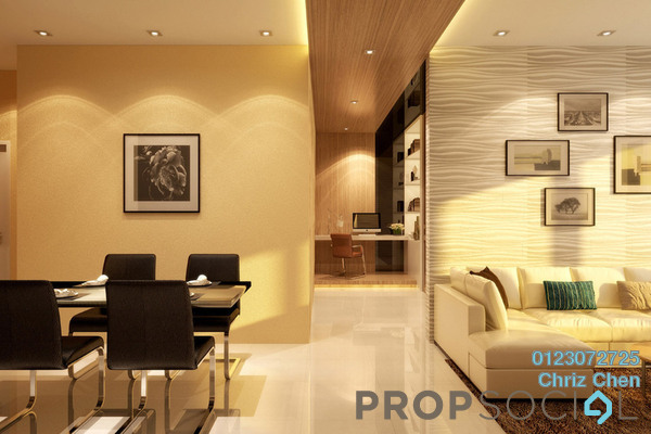 For Sale Serviced Residence at C180, Cheras South Freehold Unfurnished 3R/2B 430k