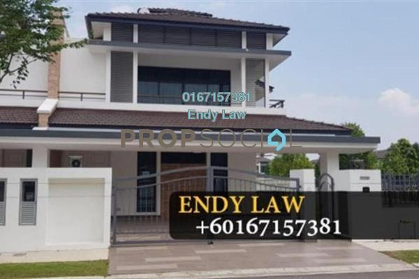For Sale Semi-Detached at Eco Botanic, Skudai Freehold Fully Furnished 5R/5B 2.1m