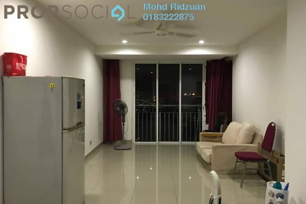For Rent Apartment at Menara U, Shah Alam Freehold Fully Furnished 2R/1B 1.6k