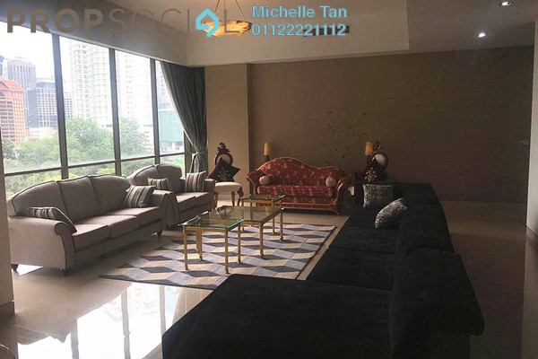 For Rent Condominium at Suria Stonor, KLCC Freehold Fully Furnished 3R/5B 8.5k