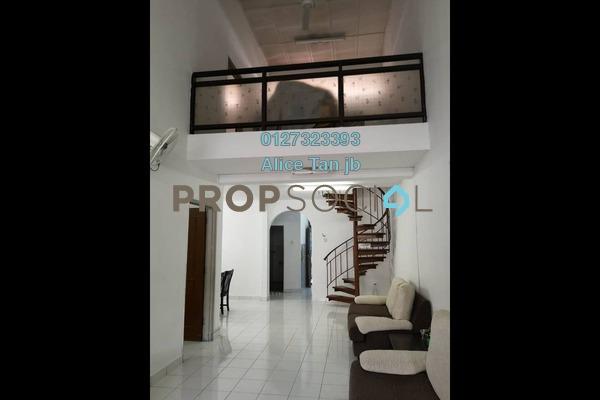 For Sale Terrace at Taman Perling, Iskandar Puteri (Nusajaya) Freehold Semi Furnished 4R/3B 508k