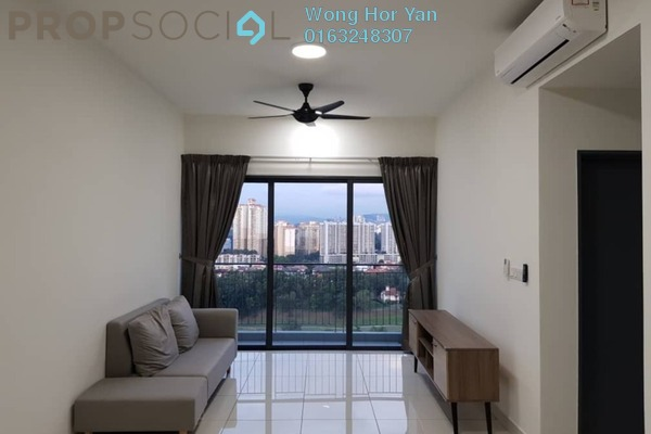 For Rent Serviced Residence at The Link 2 Residences, Bukit Jalil Freehold Semi Furnished 2R/2B 2.1k