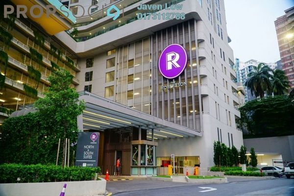 For Sale Condominium at The Robertson, Pudu Freehold Fully Furnished 0R/1B 780k