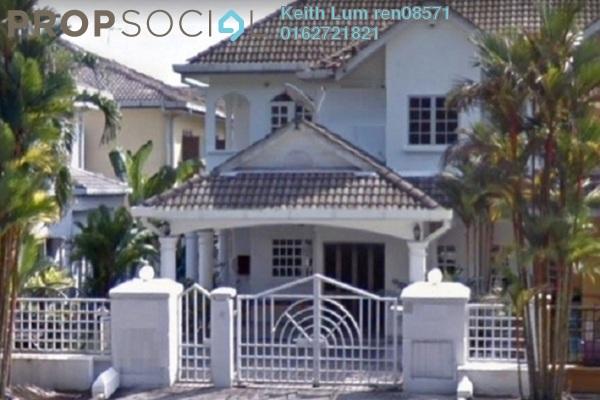 For Sale Terrace at Taman Tun Perak, Cheras South Freehold Semi Furnished 4R/3B 600k