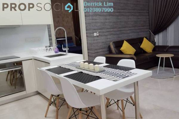 For Rent Condominium at Vogue Suites One @ KL Eco City, Mid Valley City Freehold Fully Furnished 1R/1B 3.1k