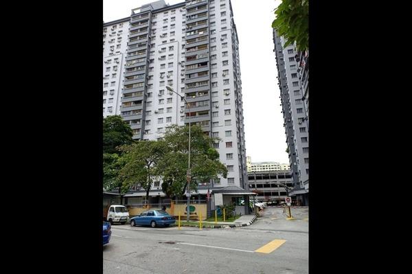 For Rent Apartment at Casa Magna, Kepong Freehold Unfurnished 3R/2B 1.2k