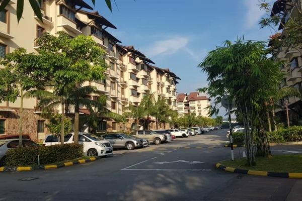 For Rent Apartment at Desa Idaman Residences, Puchong Freehold Unfurnished 3R/2B 1.4k