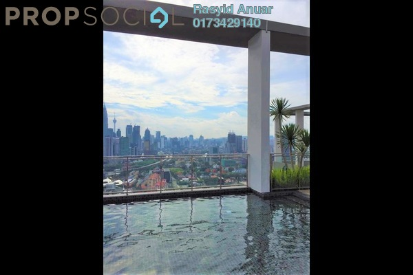 For Rent Condominium at The Haute, Keramat Freehold Semi Furnished 3R/2B 2.6k