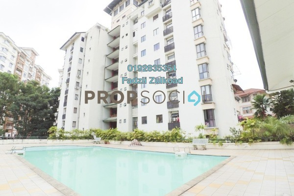 For Sale Condominium at Villa Pawana, Keramat Freehold Semi Furnished 3R/3B 560k