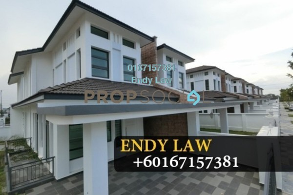 For Sale Semi-Detached at Eco Botanic, Skudai Freehold Fully Furnished 5R/5B 950k
