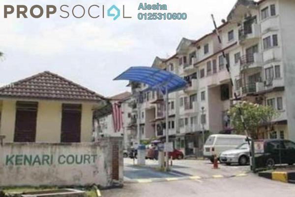 For Sale Apartment at Kenari Court, Pandan Indah Freehold Unfurnished 0R/0B 290k