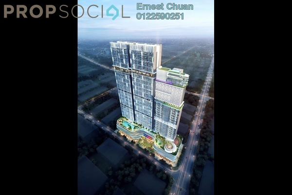 For Sale Serviced Residence at Trion, Kuala Lumpur Freehold Semi Furnished 2R/1B 550k