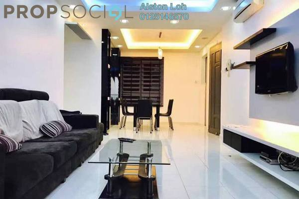 For Sale Condominium at The Spring, Jelutong Freehold Fully Furnished 3R/2B 610k