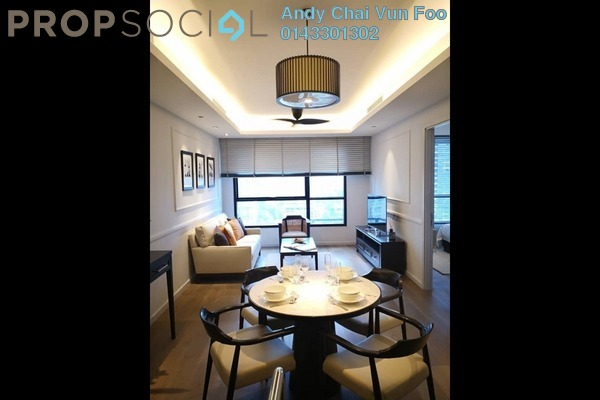 For Sale Serviced Residence at The Ruma, KLCC Freehold Semi Furnished 2R/2B 2.22m