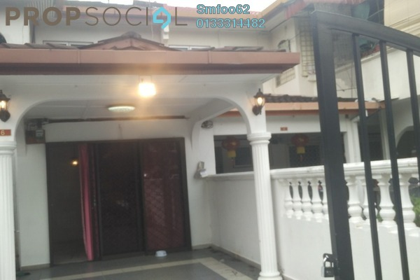 For Sale Terrace at Taman Sri Putra, Sungai Buloh Freehold Semi Furnished 4R/3B 580k