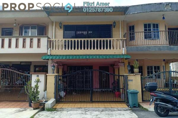 For Sale Terrace at Taman Ampang Indah, Ampang Leasehold Unfurnished 3R/2B 550k