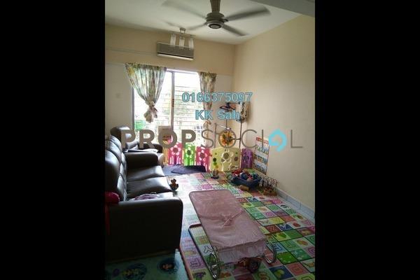 For Sale Condominium at Section 6, Bandar Mahkota Cheras Freehold Semi Furnished 3R/2B 288k
