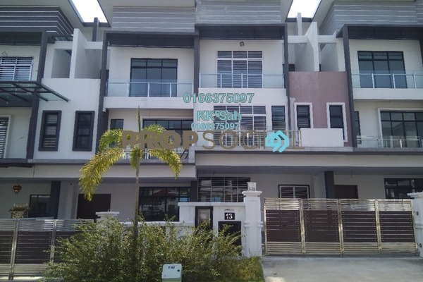 For Sale Superlink at O2 City, Puchong Freehold Unfurnished 5R/5B 1.4m